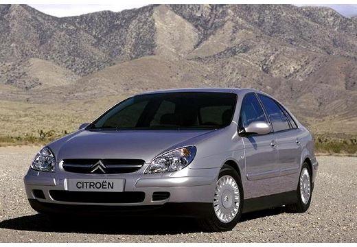 CITROEN C5 I hatchback silver grey przedni lewy