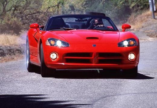 DODGE Viper Roadster II coupe czerwony jasny przedni lewy