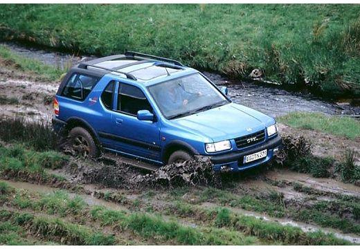 OPEL Frontera Kombi III hardtop niebieski jasny przedni prawy