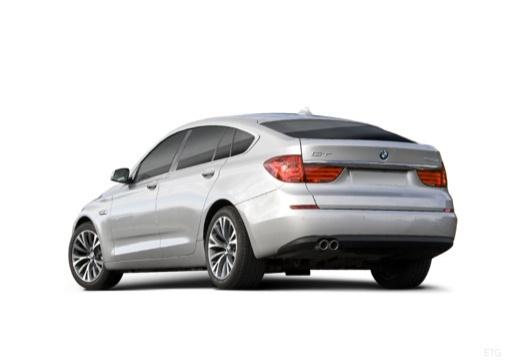BMW Seria 5 Gran Turismo F07 I hatchback silver grey tylny lewy