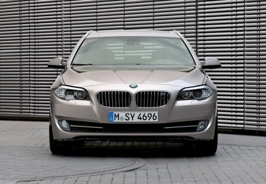 BMW Seria 5 Touring F11 I kombi silver grey przedni