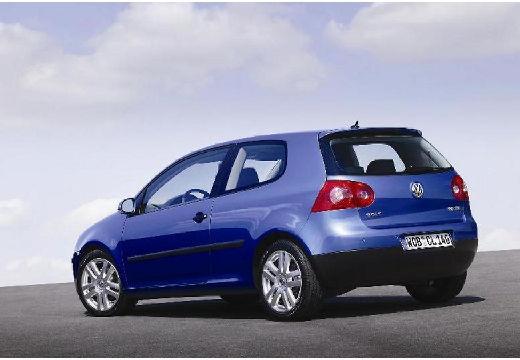 VOLKSWAGEN Golf V hatchback niebieski jasny tylny lewy
