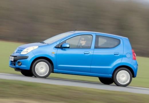 NISSAN Pixo hatchback niebieski jasny przedni lewy