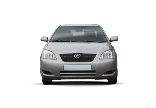 Toyota Corolla VI hatchback silver grey przedni