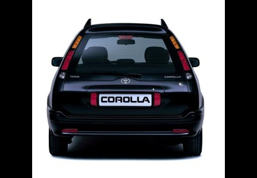 Toyota Corolla IV kombi czarny tylny