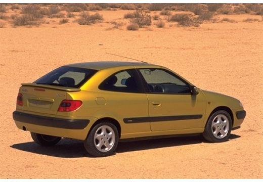 CITROEN Xsara I hatchback żółty tylny prawy