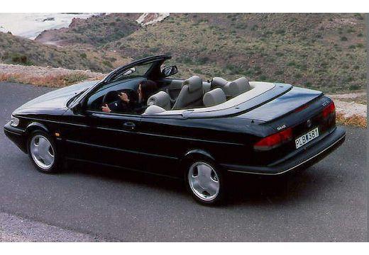 SAAB 900 Cabriolet kabriolet tylny lewy