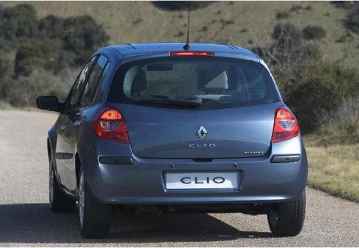 RENAULT Clio III I hatchback niebieski jasny tylny lewy