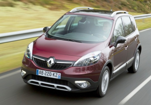 RENAULT Scenic Xmod 1.5 dCi Expression Kombi mpv 110KM (diesel)