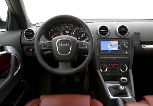 AUDI A3 Cabriolet kabriolet tablica rozdzielcza