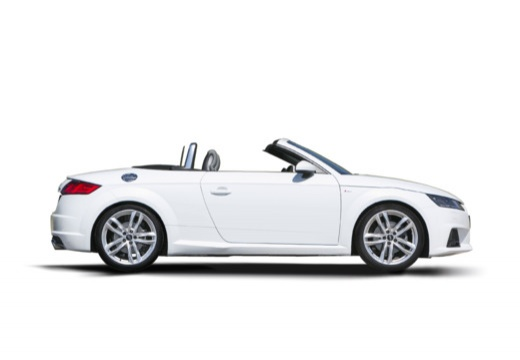 AUDI TT III roadster boczny prawy