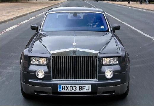 ROLLS-ROYCE Phantom I sedan silver grey przedni