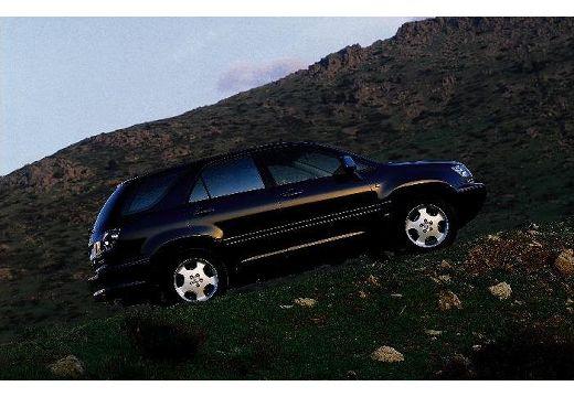 LEXUS RX 300 I kombi czarny boczny prawy