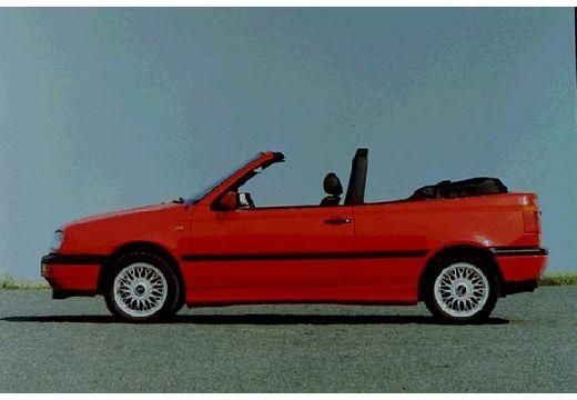 VOLKSWAGEN Golf Cabriolet III kabriolet czerwony jasny boczny lewy