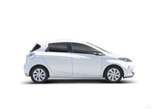RENAULT ZOE hatchback boczny prawy