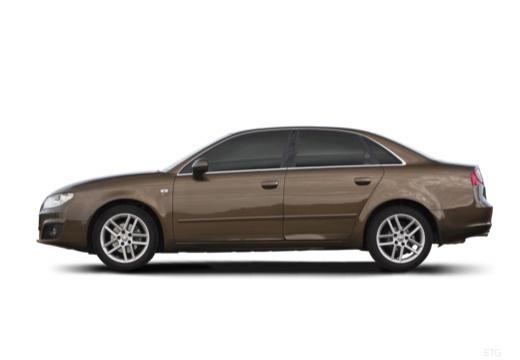 SEAT Exeo I sedan boczny lewy