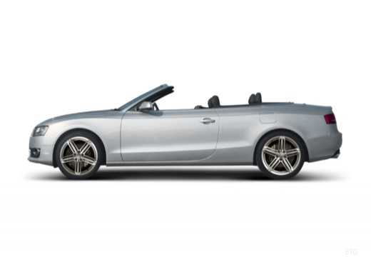 AUDI A5 Cabriolet I kabriolet boczny lewy