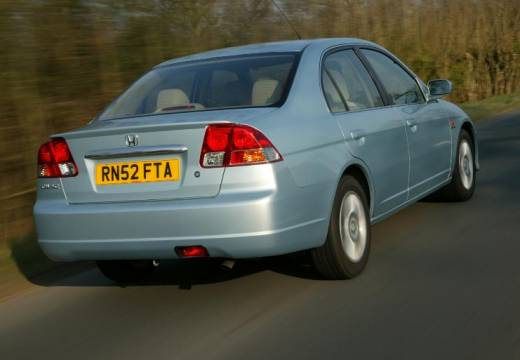 HONDA Civic sedan silver grey tylny prawy