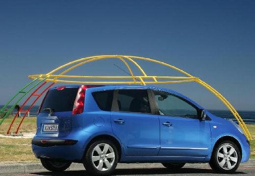NISSAN Note I hatchback niebieski jasny tylny prawy