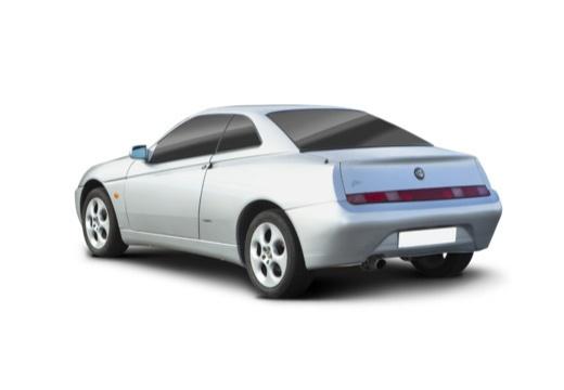 ALFA ROMEO GTV coupe silver grey tylny lewy