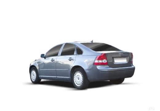 VOLVO S40 IV sedan niebieski jasny tylny lewy