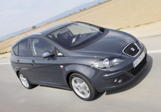 SEAT Altea XL II hatchback czarny przedni prawy
