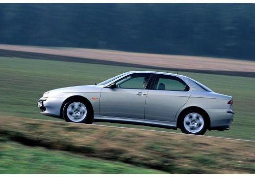 ALFA ROMEO 156 I sedan silver grey boczny lewy