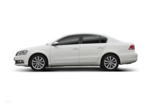 VOLKSWAGEN Passat VI sedan biały boczny lewy