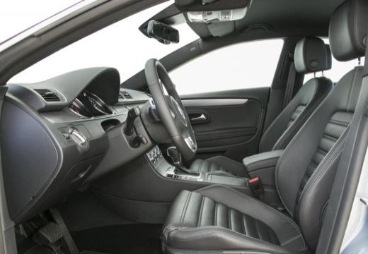 VOLKSWAGEN Passat CC sedan silver grey wnętrze