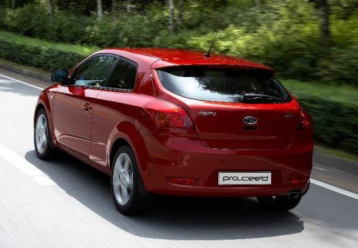 KIA Ceed Proceed II hatchback czerwony jasny tylny lewy