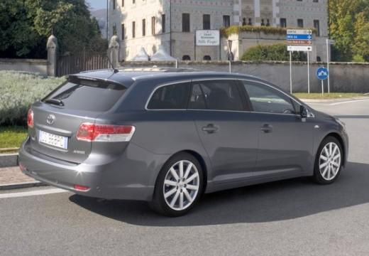Toyota Avensis V kombi silver grey tylny prawy