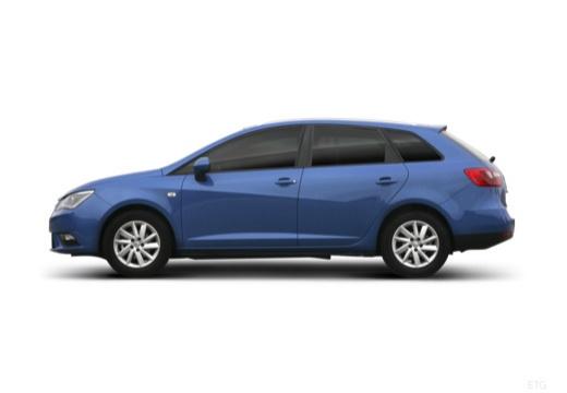 SEAT Ibiza ST II kombi boczny lewy