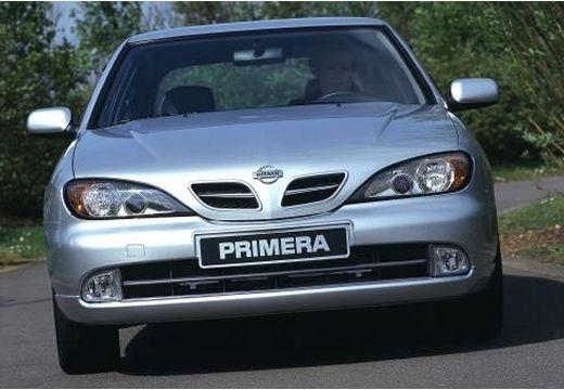 NISSAN Primera III sedan silver grey przedni