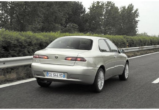 ALFA ROMEO 156 sedan silver grey tylny prawy