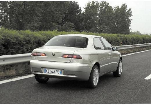 ALFA ROMEO 156 III sedan silver grey tylny prawy