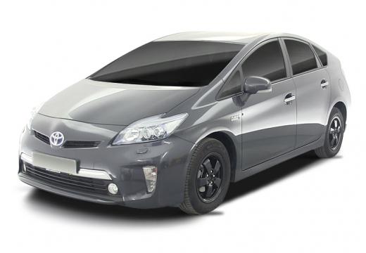 Toyota Prius hatchback czarny