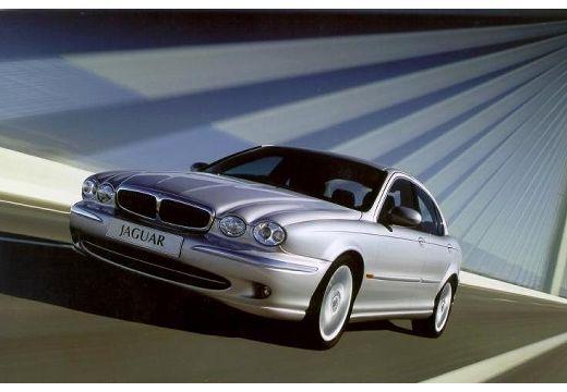 JAGUAR X-Type I sedan silver grey przedni lewy