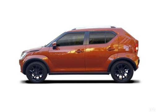 SUZUKI Ignis III hatchback boczny lewy