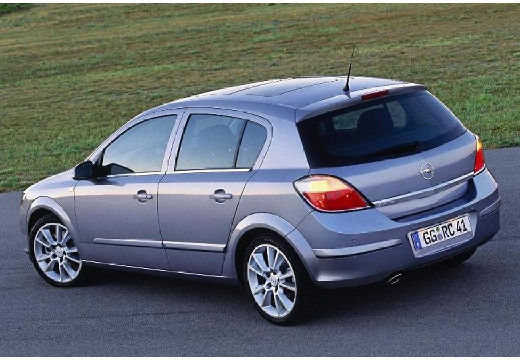 OPEL Astra III I hatchback silver grey tylny lewy