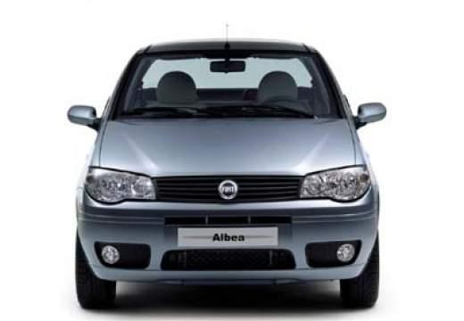 FIAT Albea sedan silver grey przedni