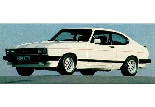 FORD Capri coupe biały przedni lewy