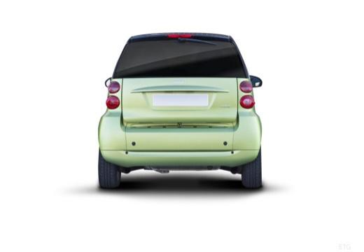 SMART fortwo coupe zielony jasny tylny