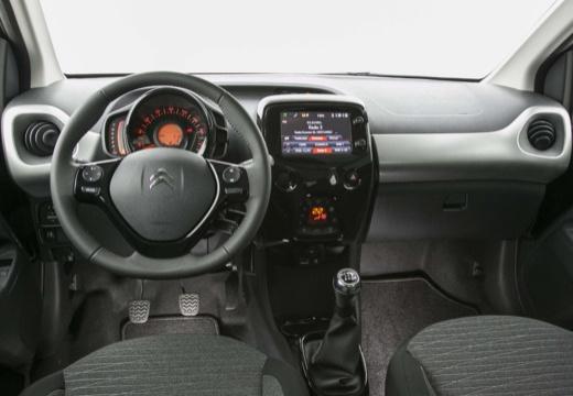 CITROEN C1 IV hatchback czarny tablica rozdzielcza