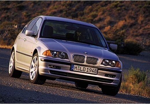 BMW Seria 3 sedan silver grey przedni prawy