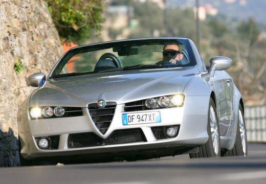 ALFA ROMEO Spider V kabriolet silver grey przedni lewy