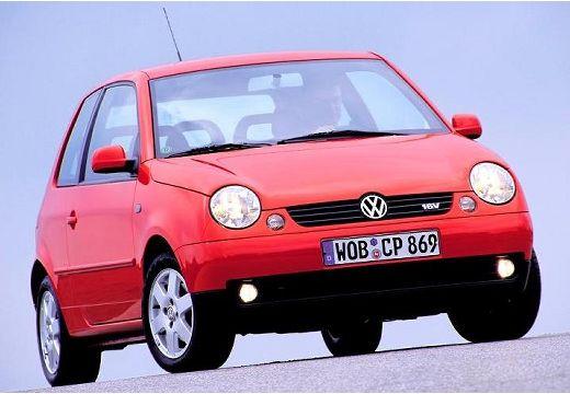 VOLKSWAGEN Lupo hatchback czerwony jasny przedni prawy