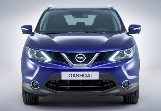 NISSAN Qashqai III hatchback niebieski jasny przedni