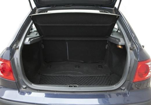 HYUNDAI Elantra II hatchback przestrzeń załadunkowa
