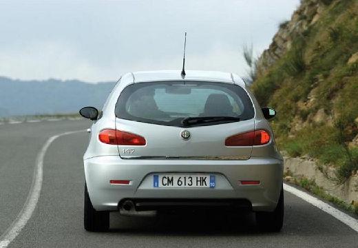 ALFA ROMEO 147 II hatchback silver grey tylny