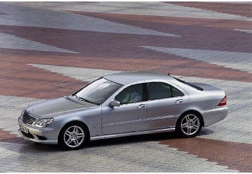 MERCEDES-BENZ Klasa S W 220 II sedan silver grey przedni lewy